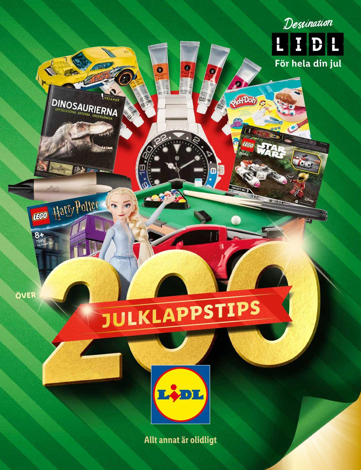 Lidl Julk 2020 - Reklamblad - 19/11-27/12-2020