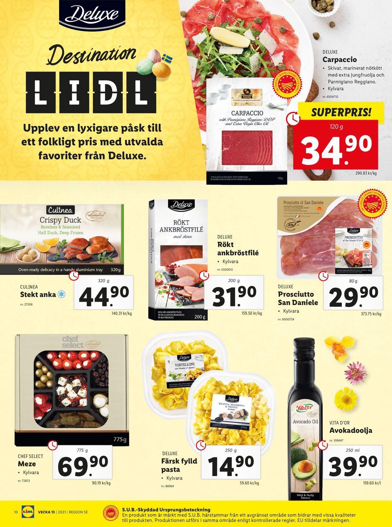 Lidl - Reklamblad - 29/03-04/04-2021 (Sida 10)