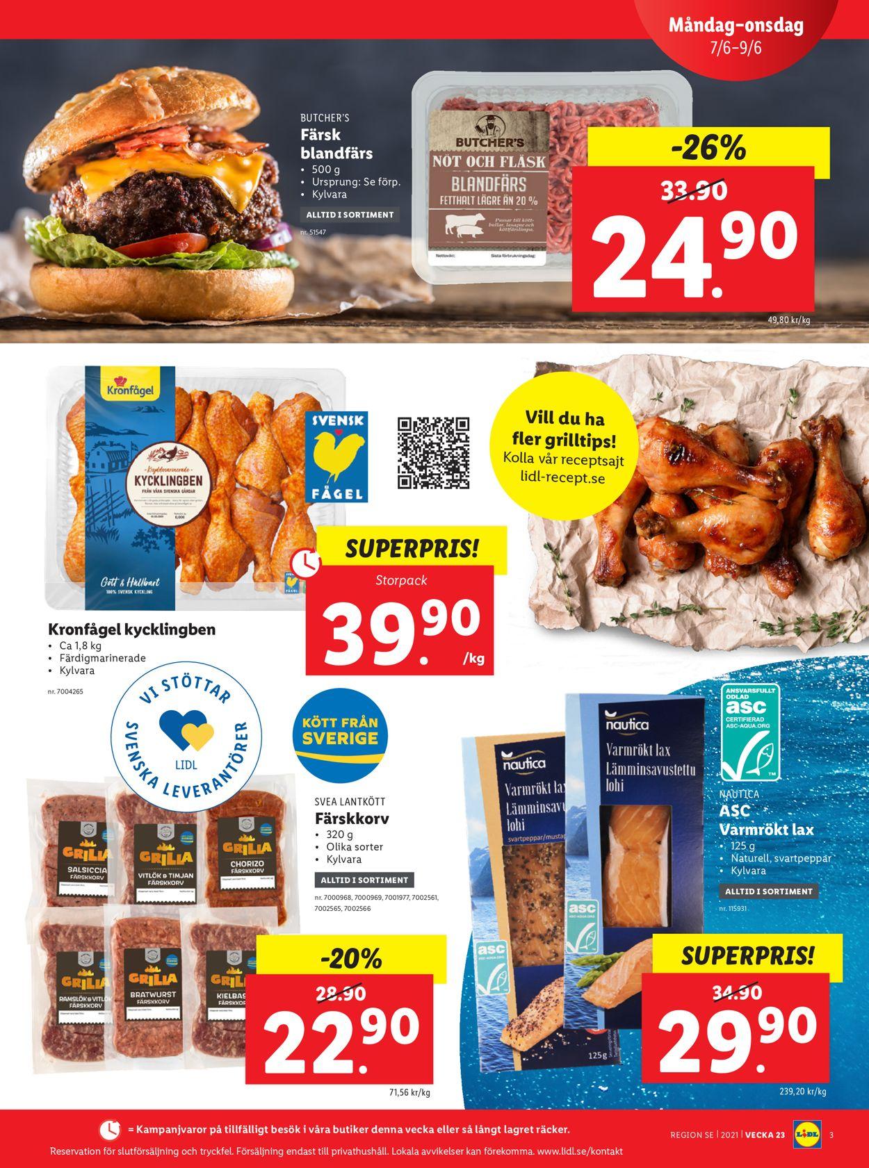 Lidl - Reklamblad - 07/06-13/06-2021 (Sida 3)