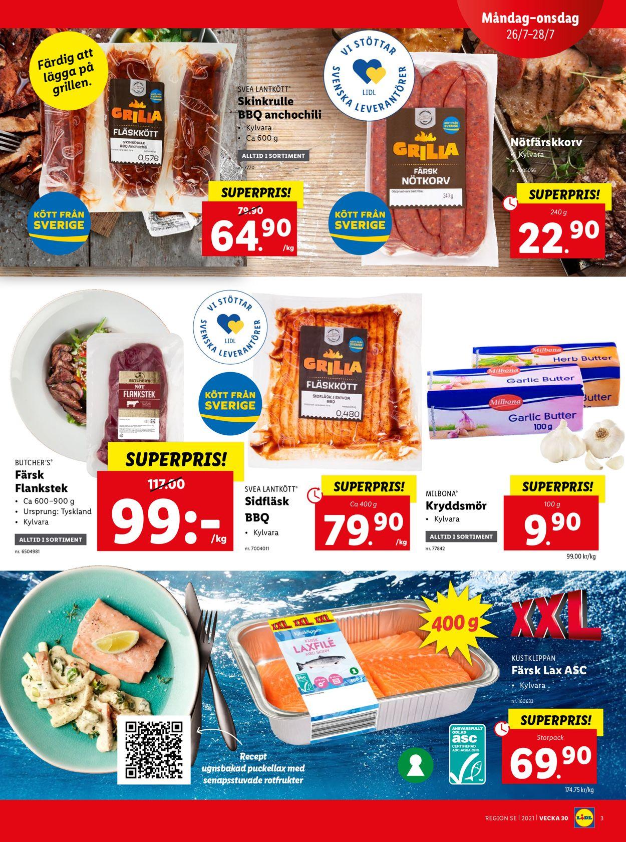 Lidl - Reklamblad - 26/07-01/08-2021 (Sida 3)