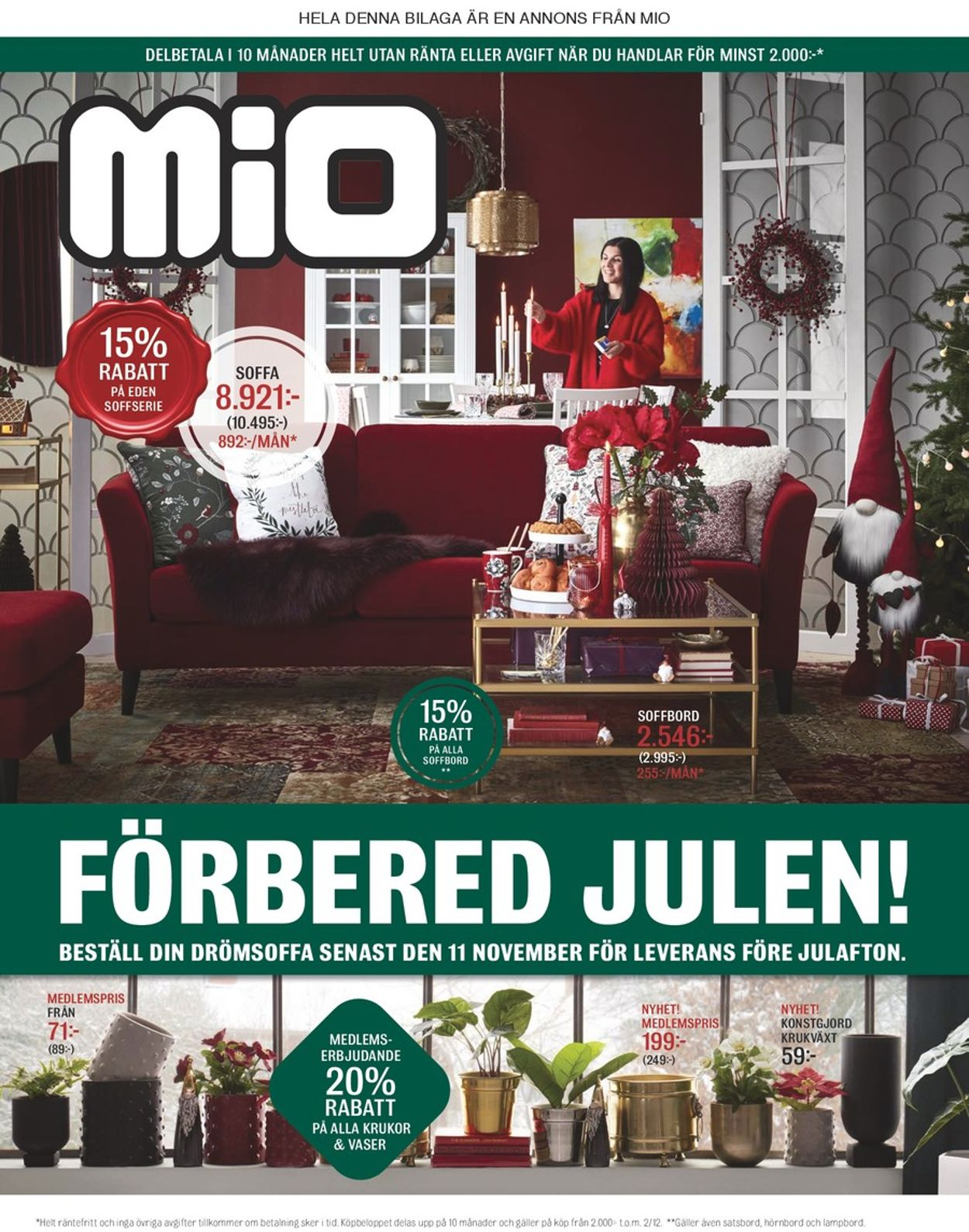 Mio - Reklamblad - 29/10-11/11-2019