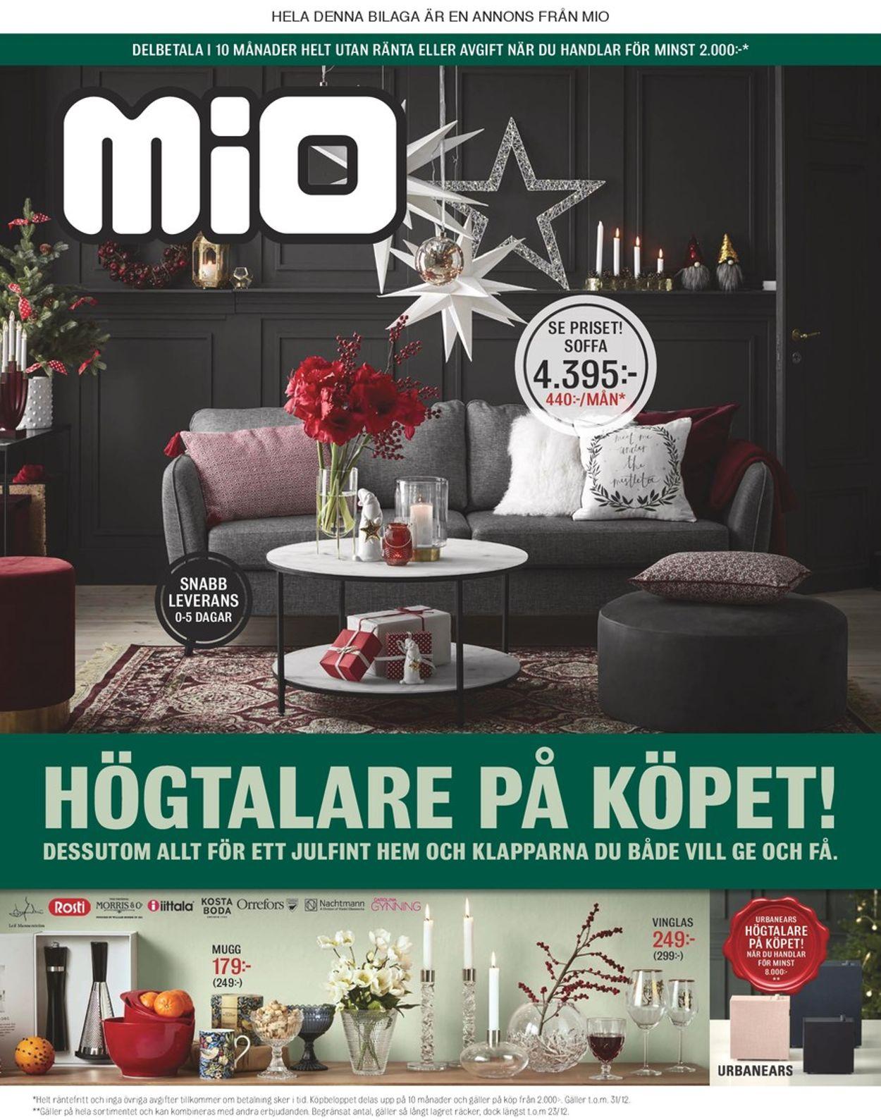 Mio - Reklamblad - 03/12-23/12-2019