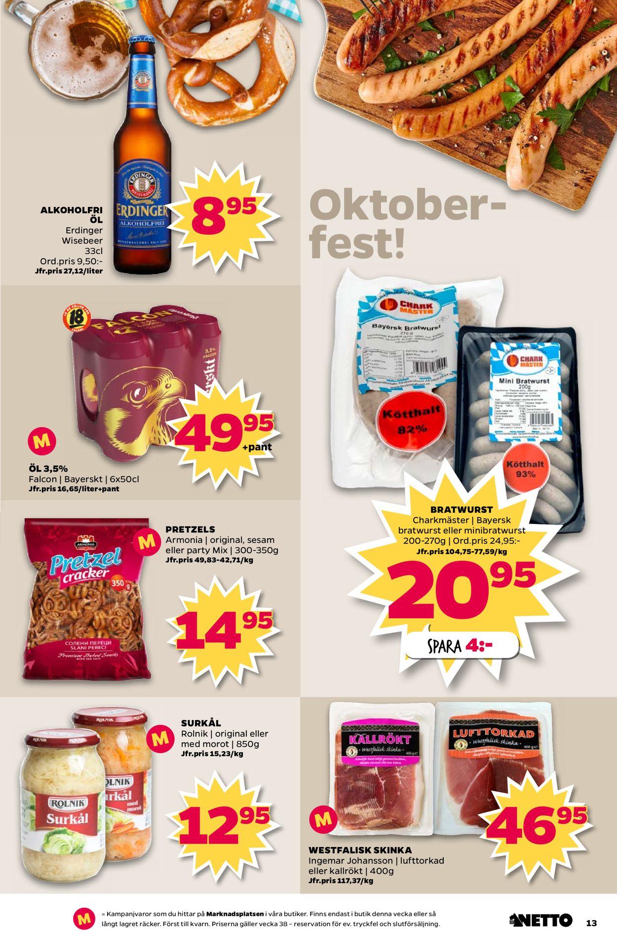 Netto - Reklamblad - 16/09-22/09-2019 (Sida 13)