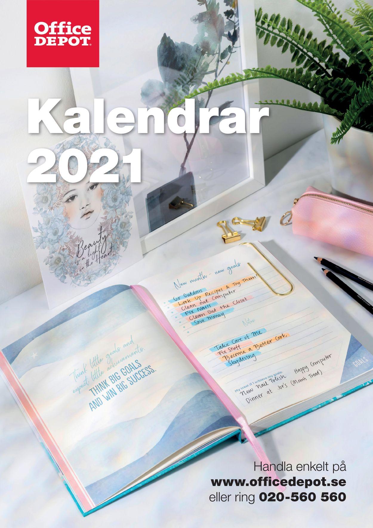 Office Depot - Reklamblad - 01/08-31/12-2020