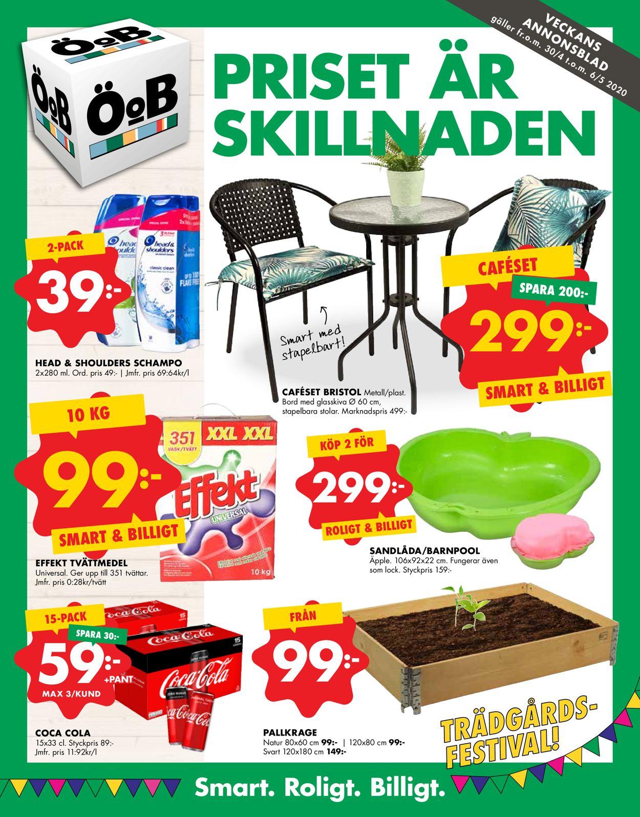 ÖoB - Reklamblad - 30/04-06/05-2020