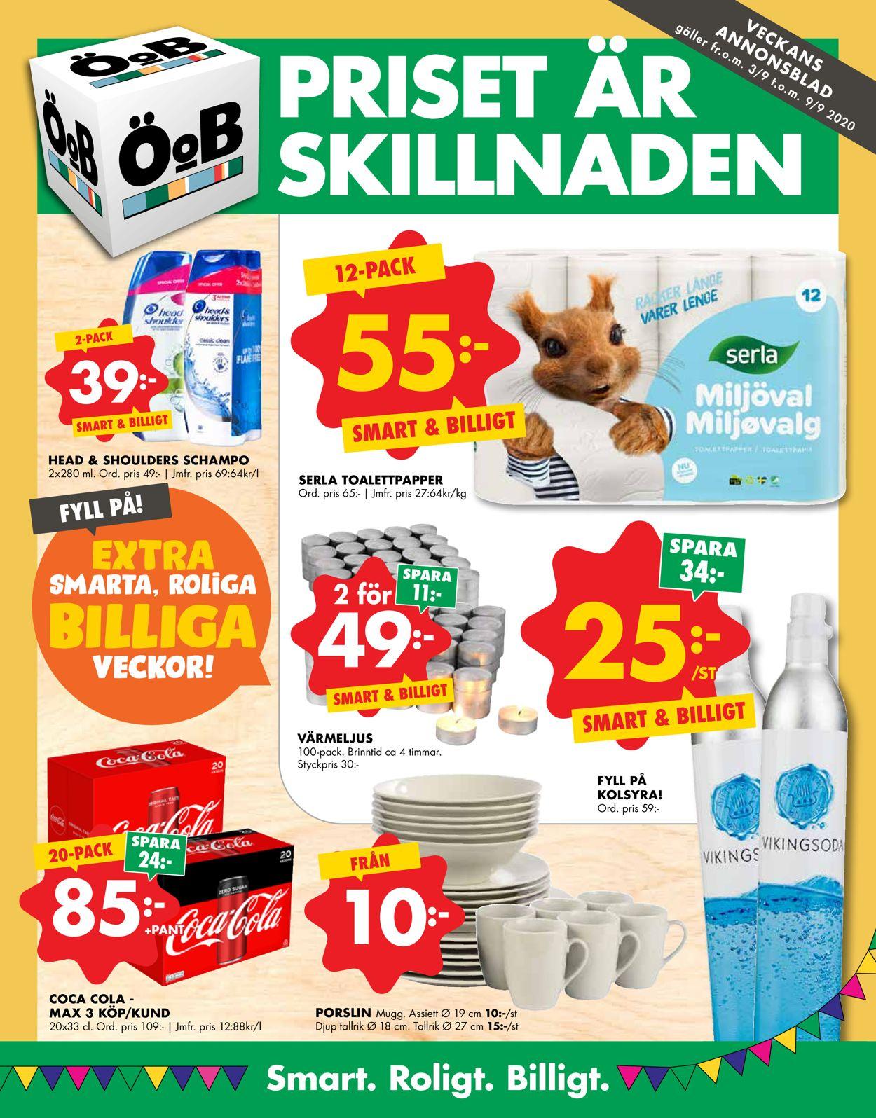 ÖoB - Reklamblad - 03/09-09/09-2020