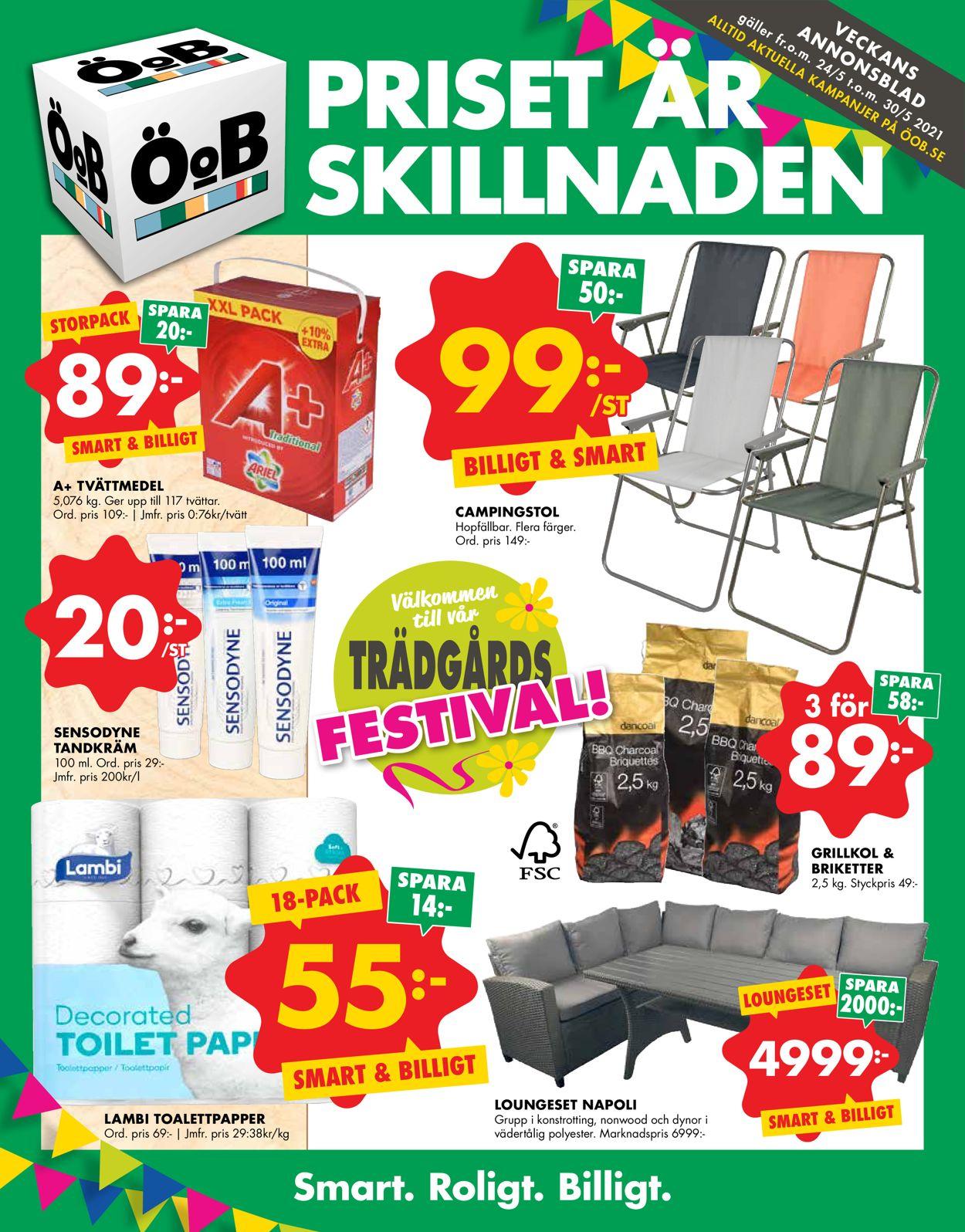 ÖoB - Reklamblad - 24/05-30/05-2021