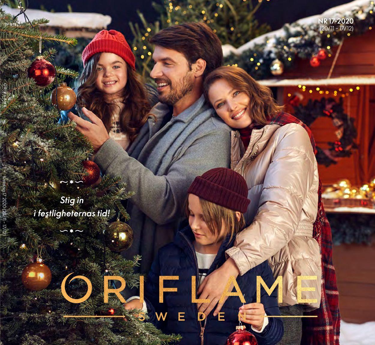 Oriflame Julen 2020 - Reklamblad - 20/11-17/12-2020
