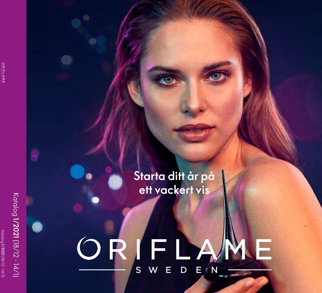 Oriflame Julen 2020 - Reklamblad - 18/12-14/01-2021