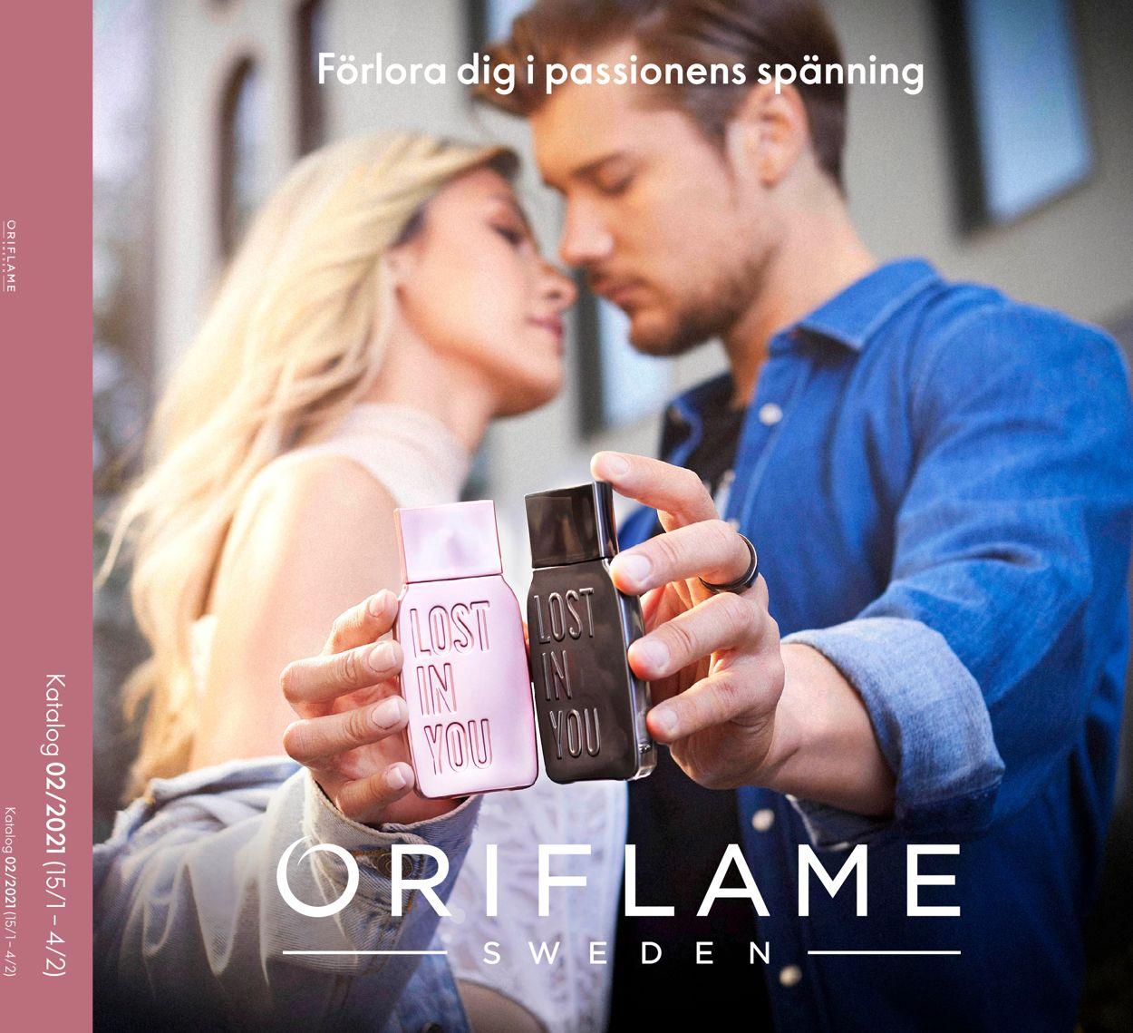Oriflame - Reklamblad - 15/01-04/02-2021