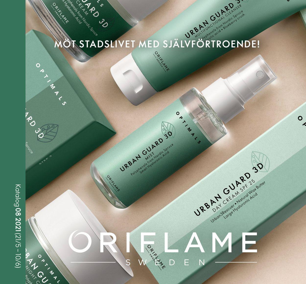 Oriflame - Reklamblad - 21/05-10/06-2021