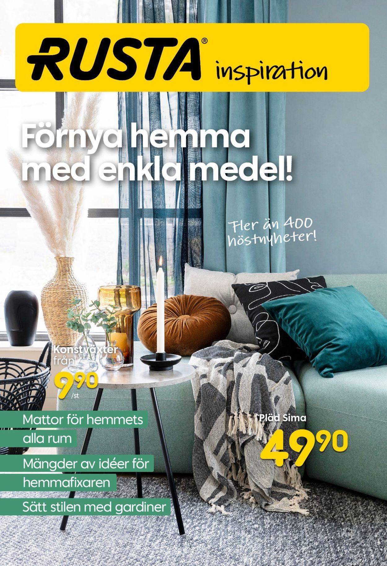 Rusta - Reklamblad - 27/08-16/09-2020