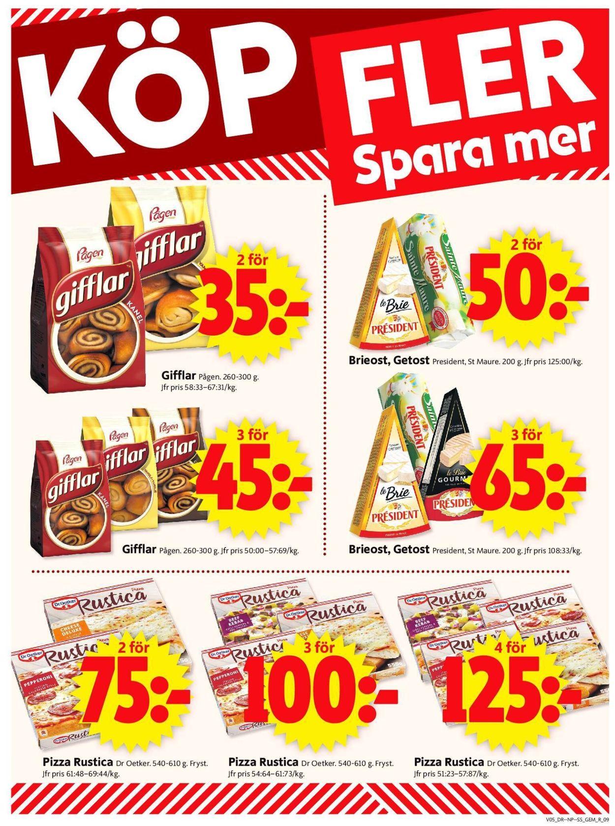 ICA Supermarket - Reklamblad - 01/02-07/02-2021 (Sida 9)