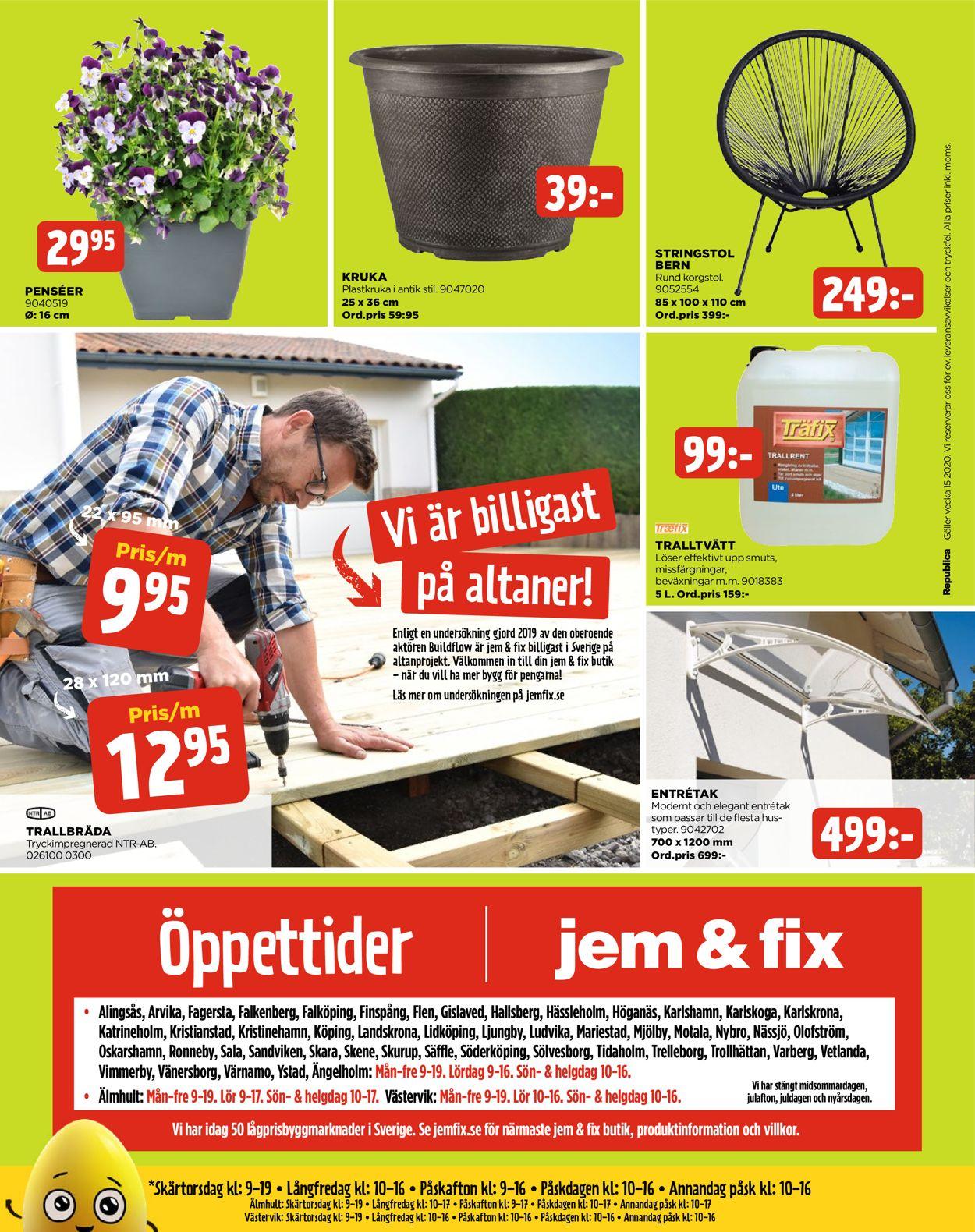 Jem & Fix - Reklamblad - 06/04-12/04-2020 (Sida 24)