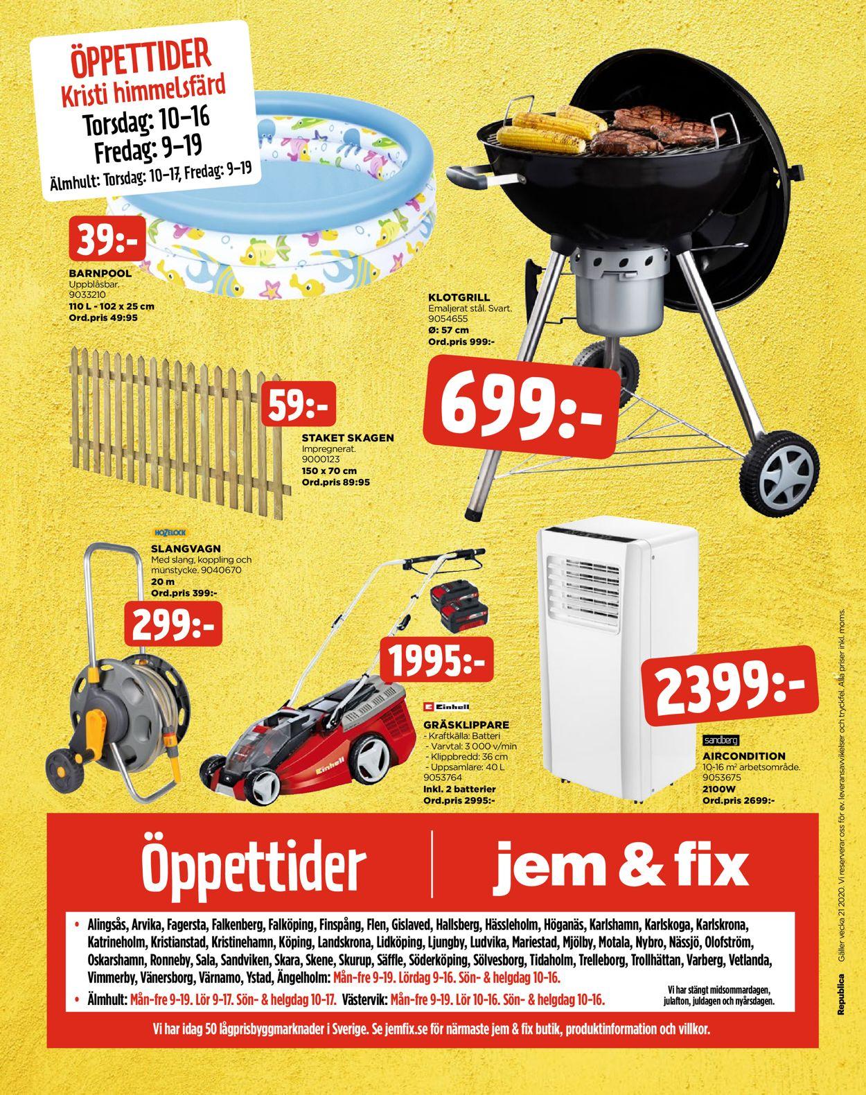 Jem & Fix - Reklamblad - 18/05-24/05-2020 (Sida 24)