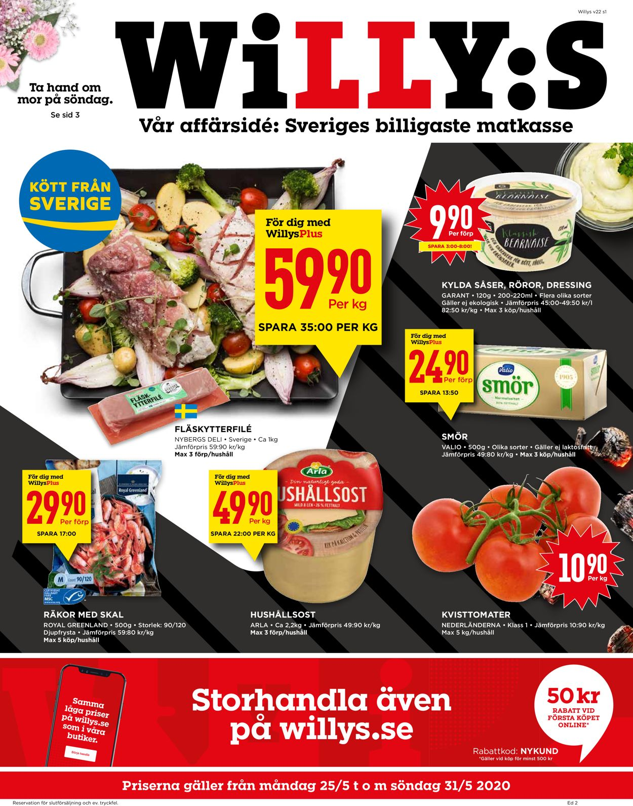 WiLLY:S - Reklamblad - 25/05-31/05-2020