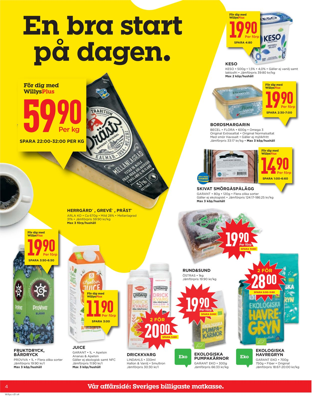 WiLLY:S - Reklamblad - 27/07-02/08-2020 (Sida 4)