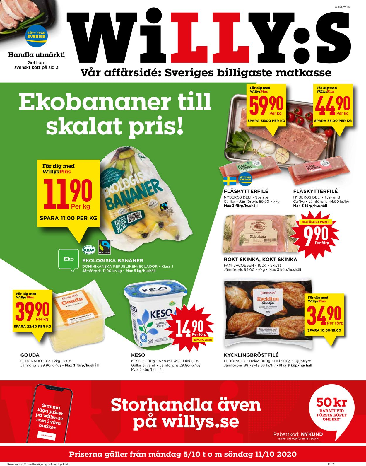 WiLLY:S - Reklamblad - 05/10-11/10-2020