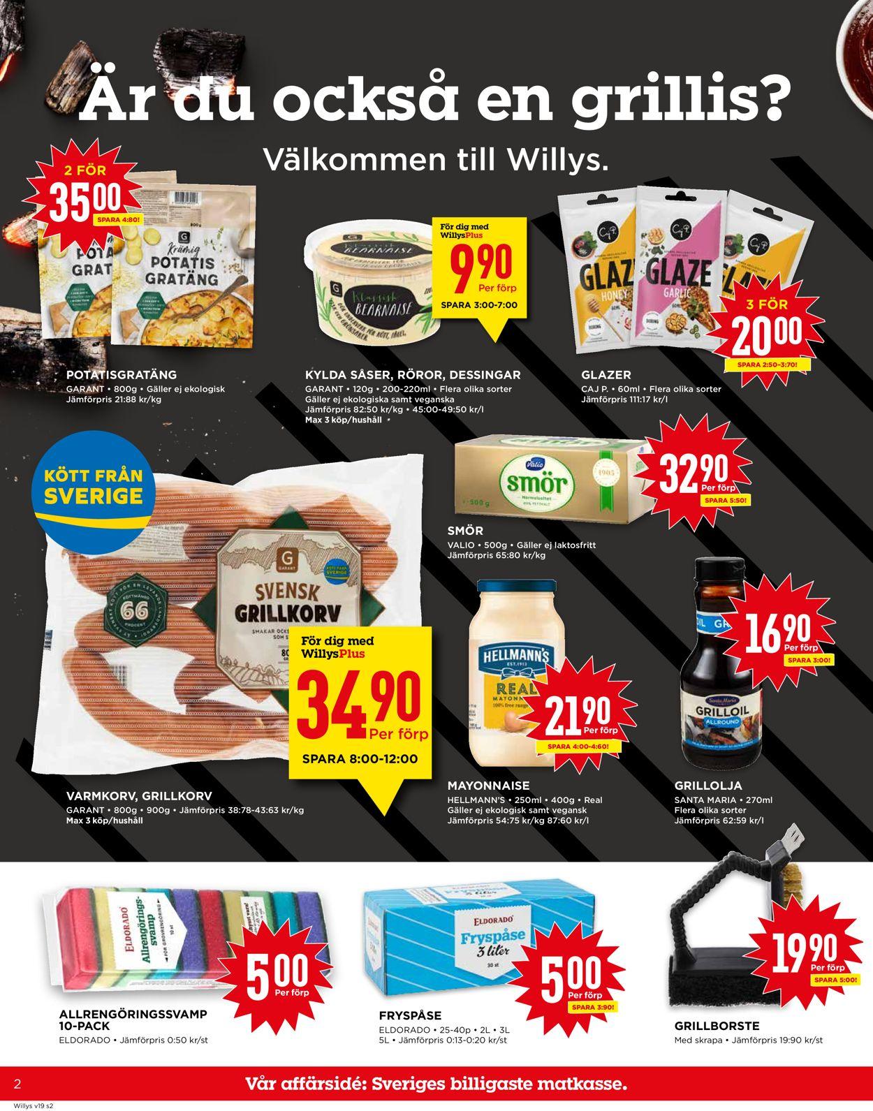 WiLLY:S - Reklamblad - 10/05-16/05-2021 (Sida 2)