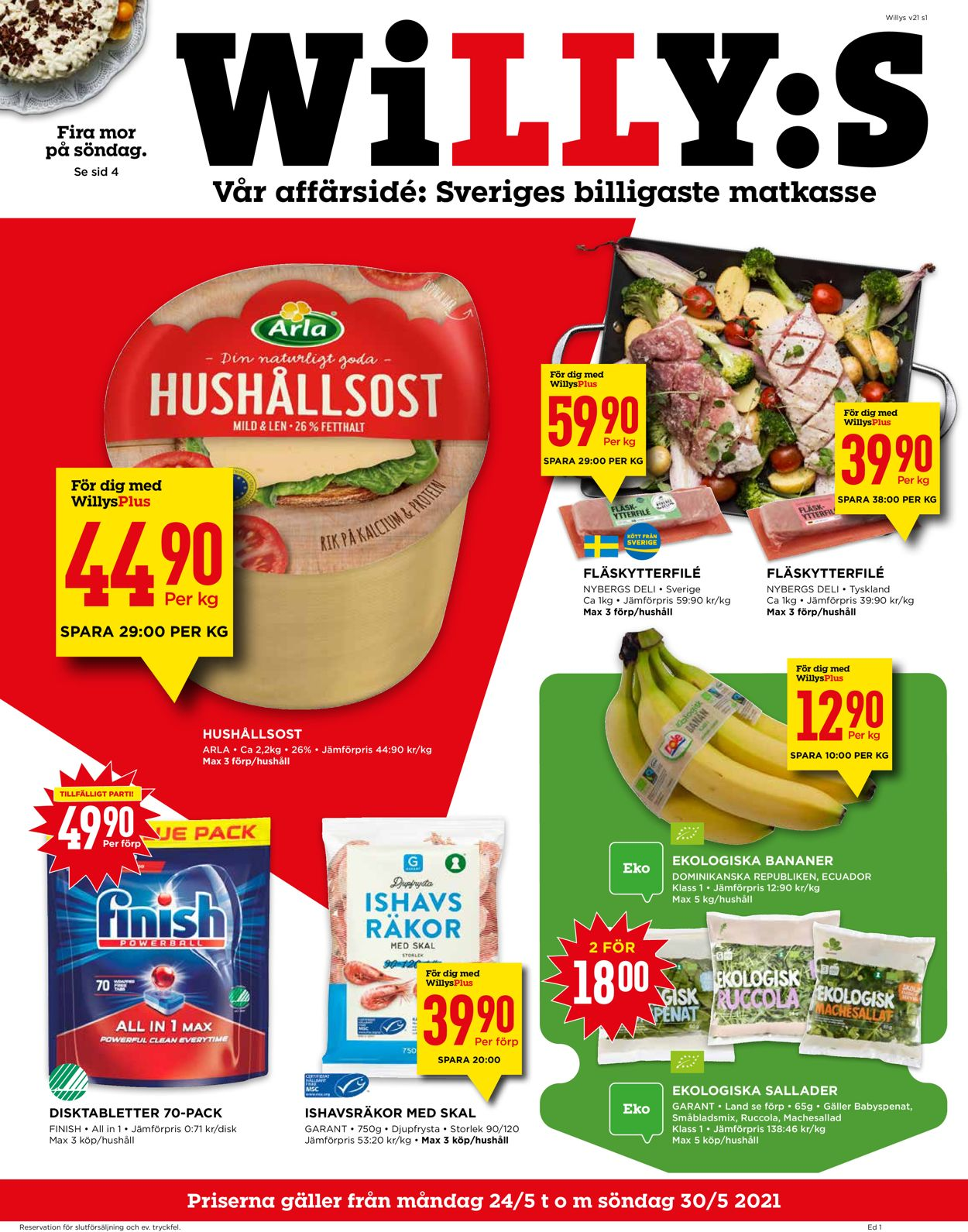 WiLLY:S - Reklamblad - 24/05-30/05-2021