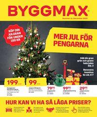 ByggMax - Julen 2020