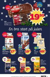 Aktuell annons Netto Julen 19/20