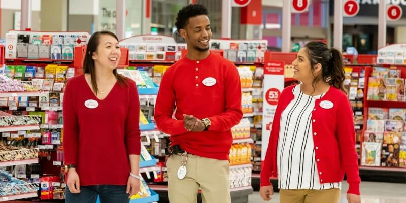 Target RedCard Payment in the store
