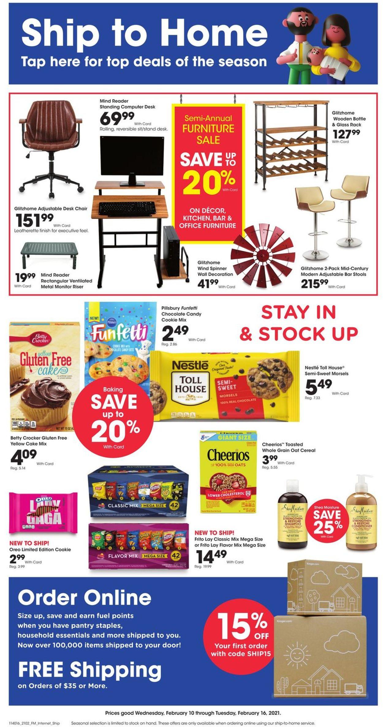 Kroger Weekly Ad Circular - valid 02/10-02/16/2021