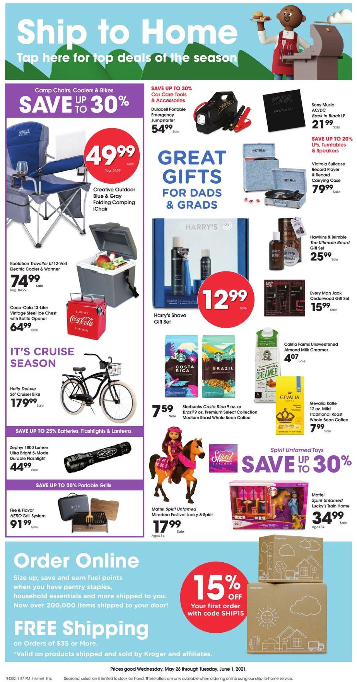 Kroger Weekly Ad Circular - valid 05/26-06/01/2021