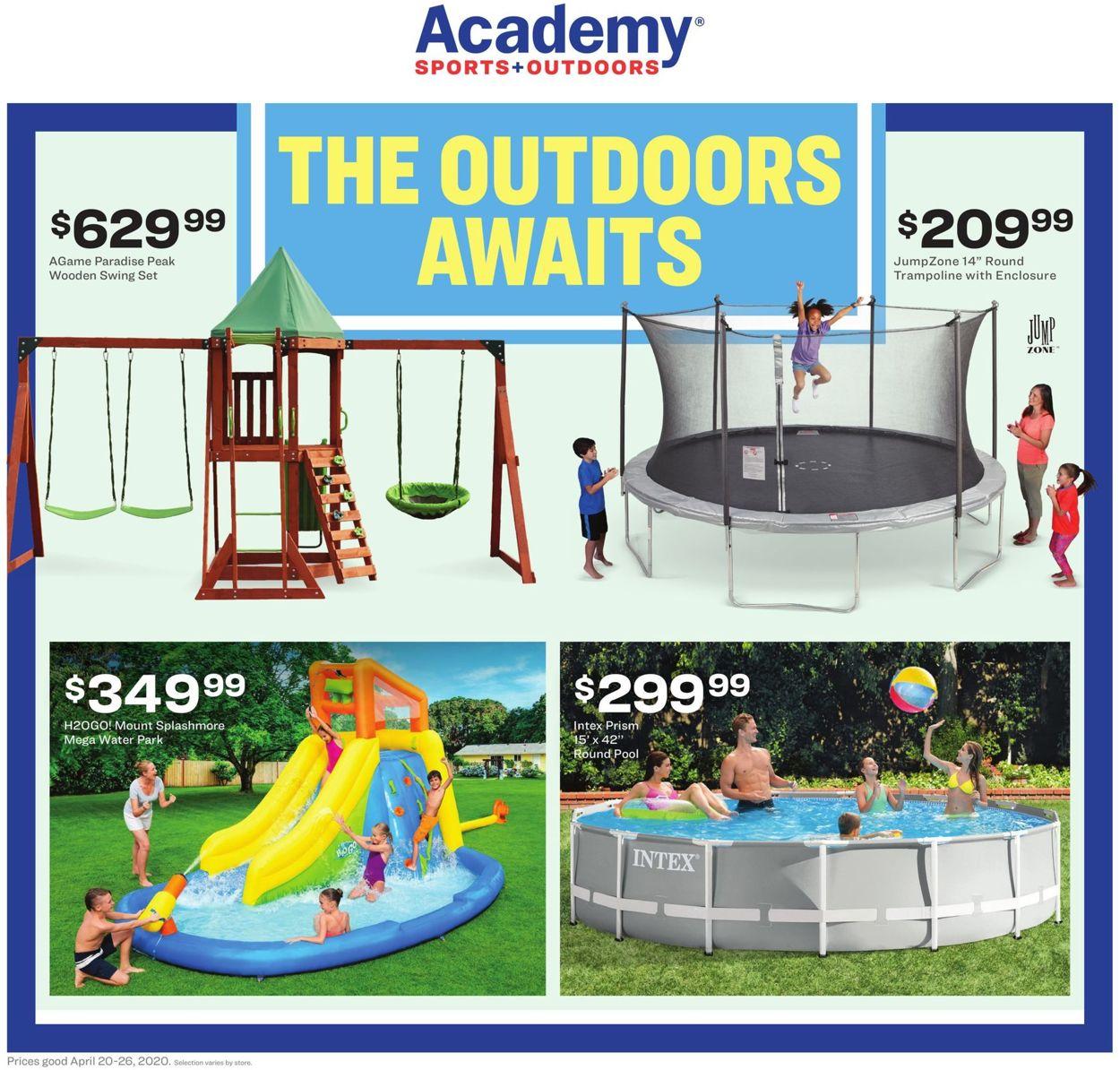 Academy Sports Weekly Ad Circular - valid 04/20-04/26/2020