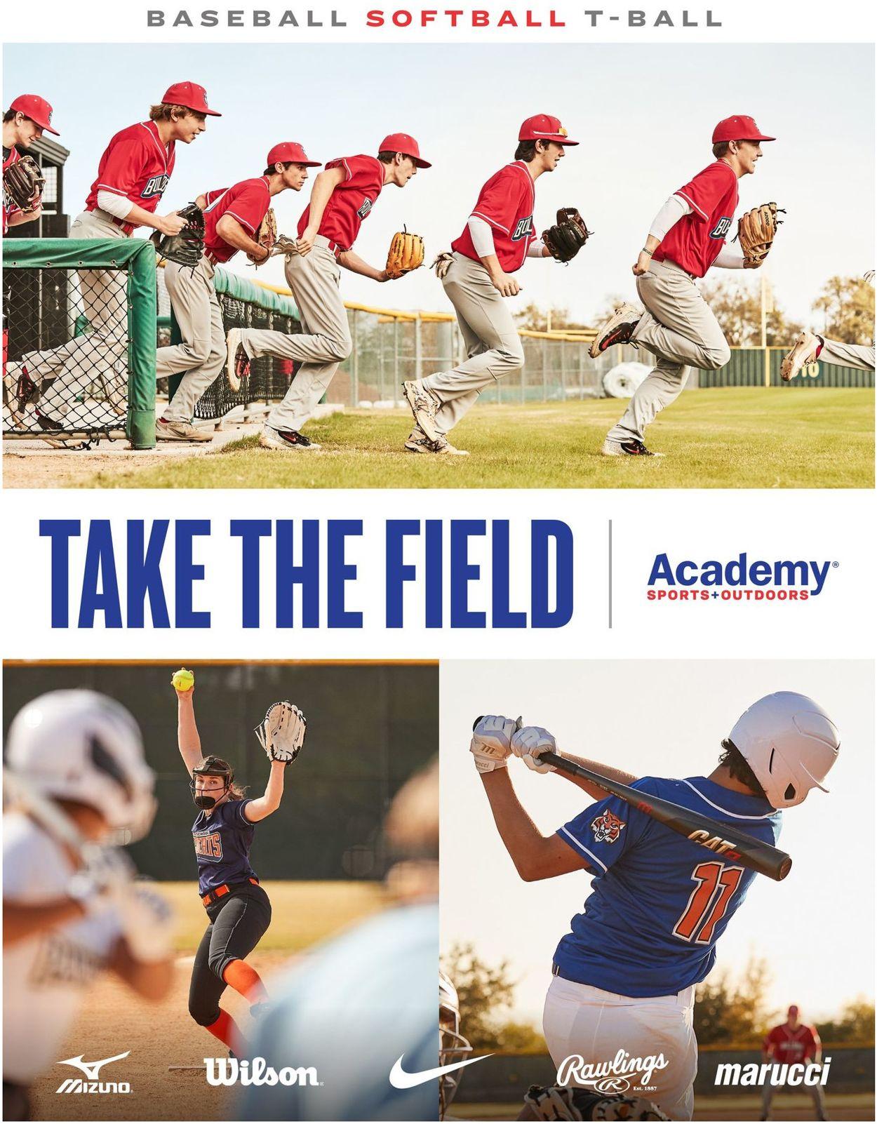 Academy Sports Baseball Gear Guide 2021 Weekly Ad Circular - valid 02/01-03/28/2021