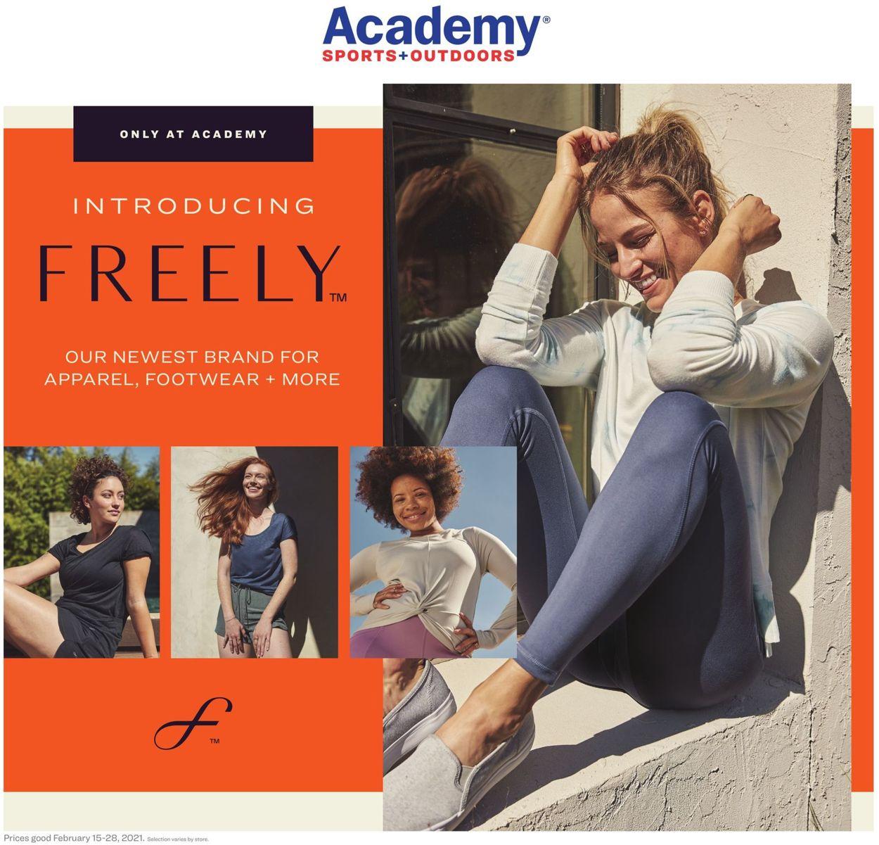 Academy Sports Weekly Ad Circular - valid 02/15-02/28/2021