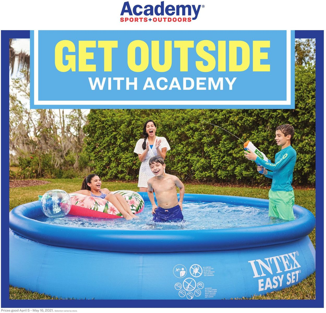 Academy Sports Weekly Ad Circular - valid 03/24-05/08/2021