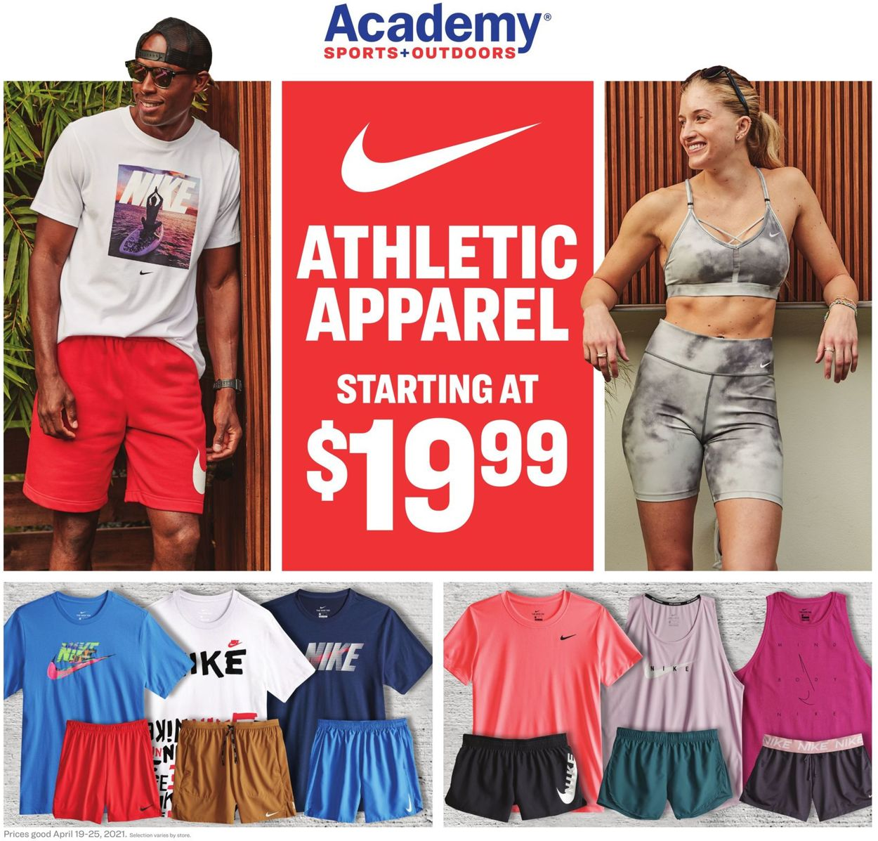 Academy Sports Weekly Ad Circular - valid 04/19-04/25/2021