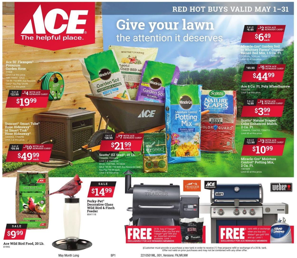 Ace Hardware Weekly Ad Circular - valid 05/01-05/31/2021
