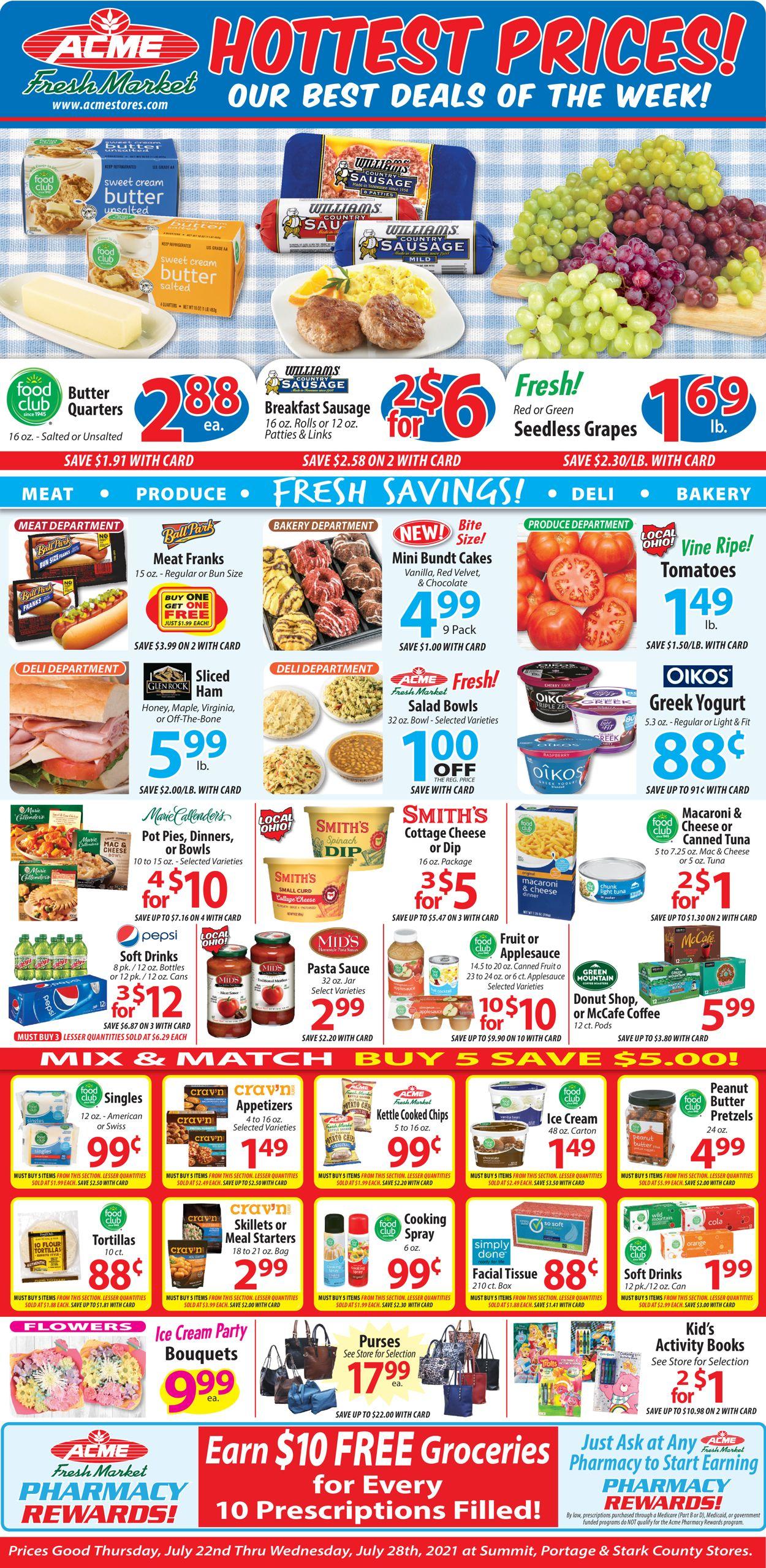 Acme Fresh Market Weekly Ad Circular - valid 07/22-07/28/2021 (Page 2)