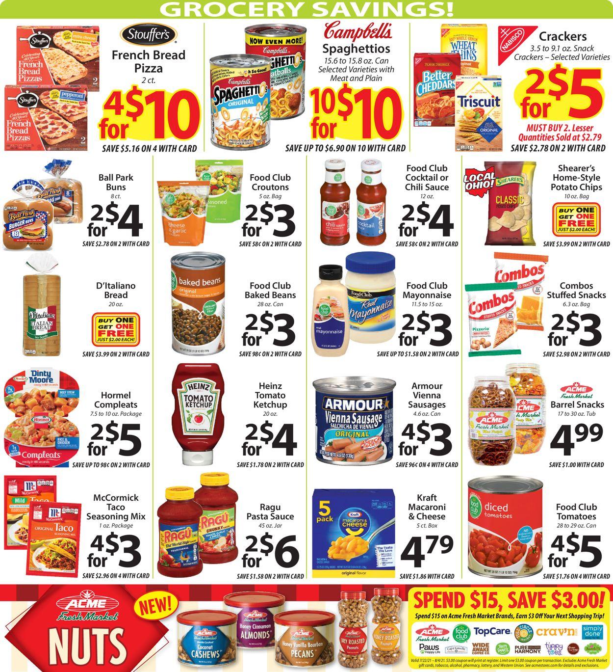 Acme Fresh Market Weekly Ad Circular - valid 07/22-07/28/2021 (Page 8)