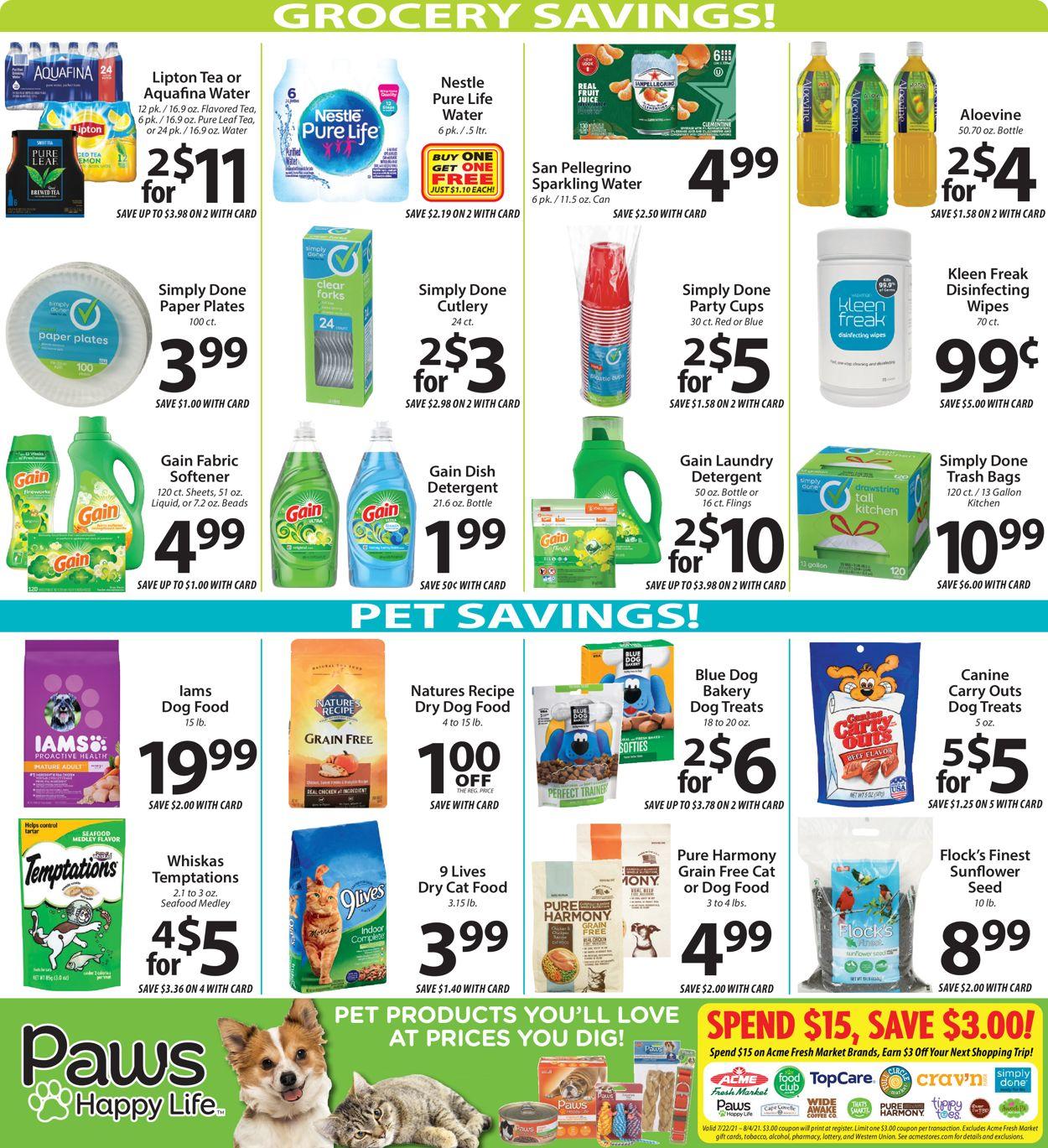 Acme Fresh Market Weekly Ad Circular - valid 07/22-07/28/2021 (Page 10)
