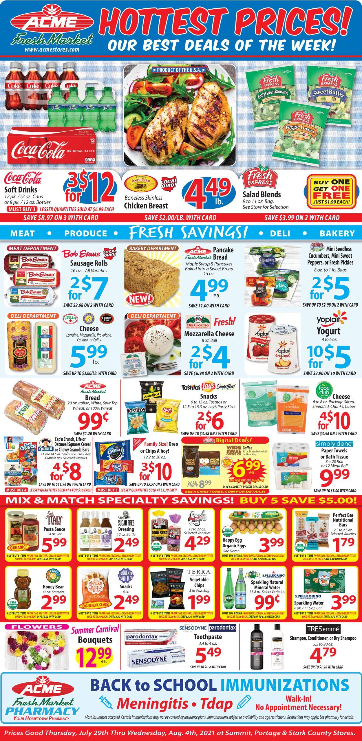 Acme Fresh Market Weekly Ad Circular - valid 07/29-08/04/2021 (Page 2)