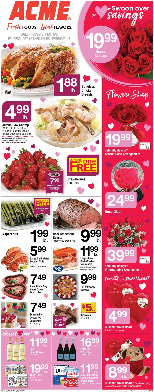 Acme Weekly Ad Circular - valid 02/12-02/18/2021