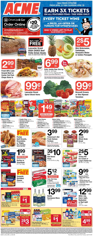 Acme Weekly Ad Circular - valid 04/23-04/29/2021