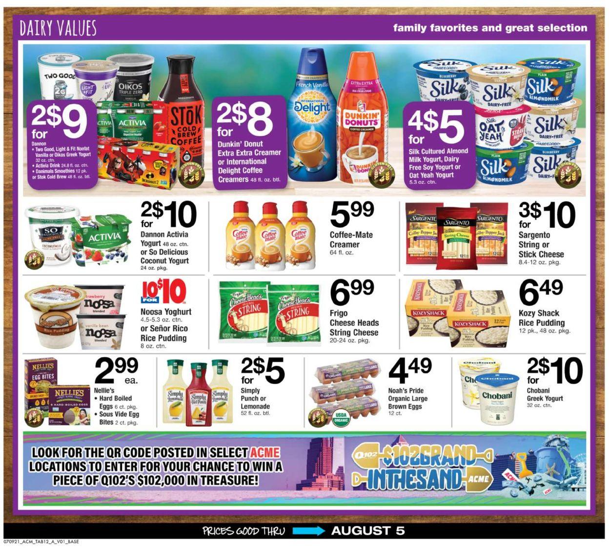 Acme Weekly Ad Circular - valid 07/09-08/05/2021 (Page 12)