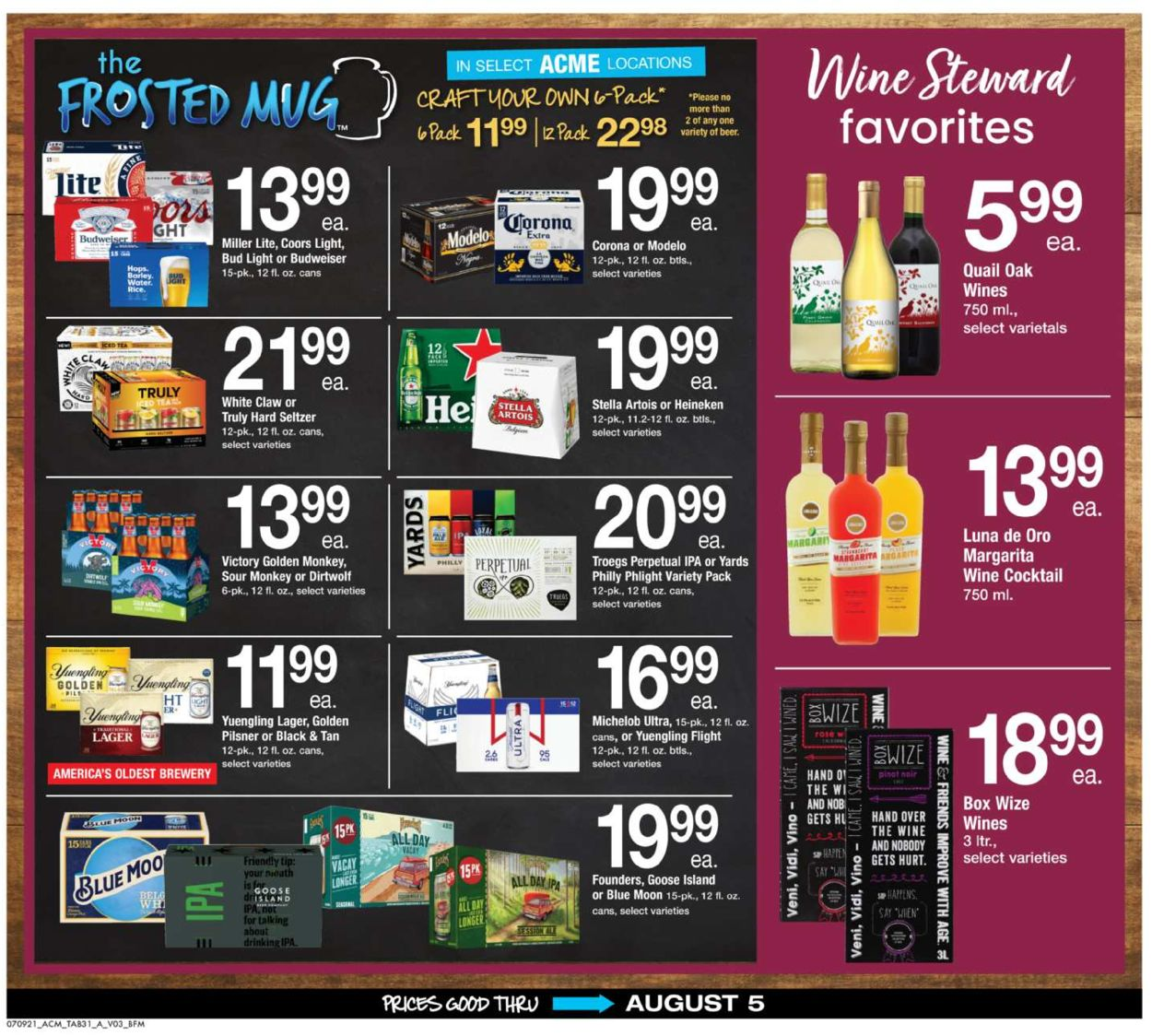 Acme Weekly Ad Circular - valid 07/09-08/05/2021 (Page 31)