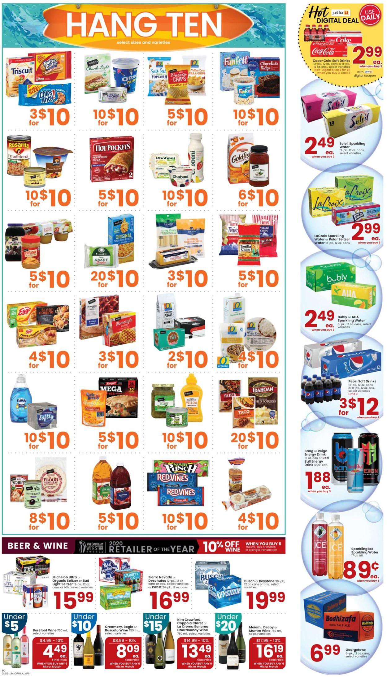 Albertsons Weekly Ad Circular - valid 07/21-07/27/2021 (Page 3)