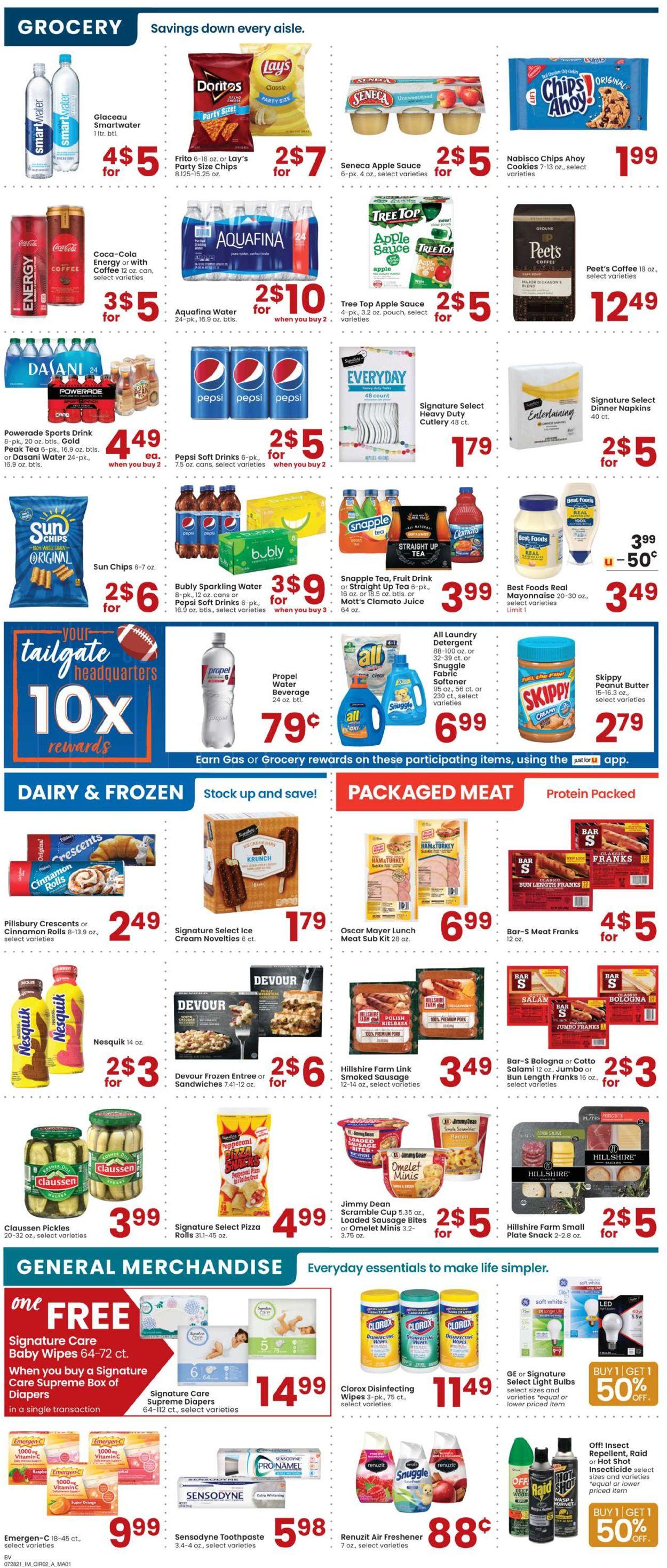 Albertsons Weekly Ad Circular - valid 07/28-08/03/2021 (Page 2)