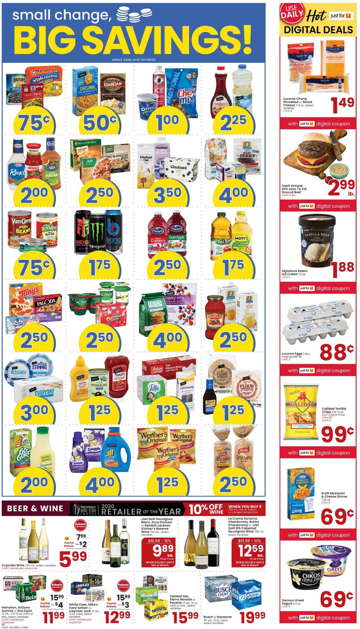 Albertsons Weekly Ad Circular - valid 07/28-08/03/2021 (Page 5)