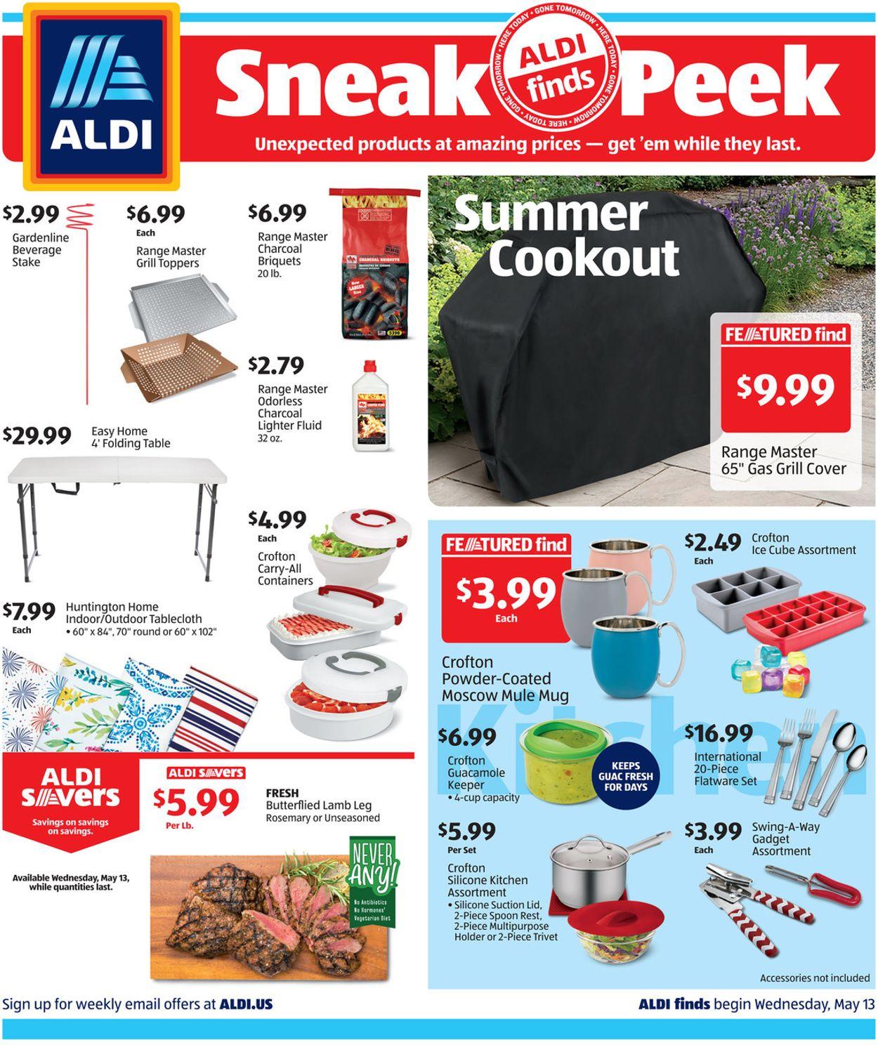 ALDI Weekly Ad Circular - valid 05/13-05/19/2020
