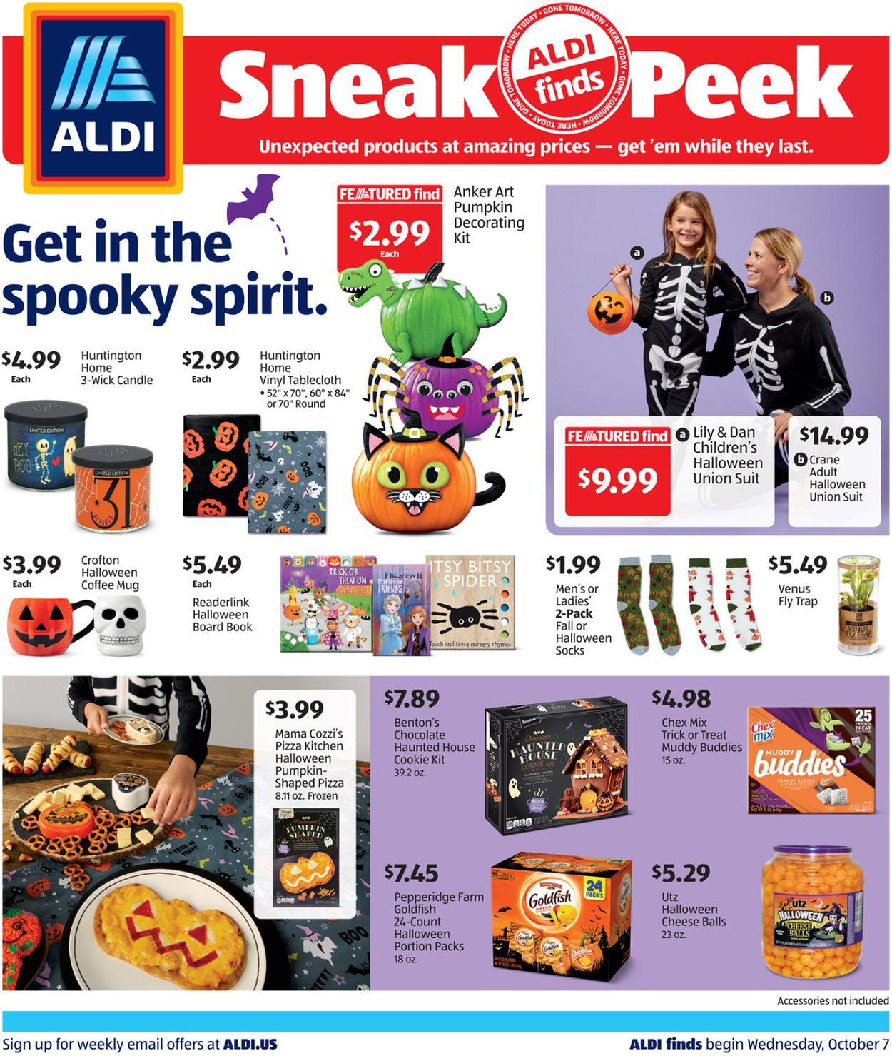 ALDI Weekly Ad Circular - valid 10/07-10/13/2020