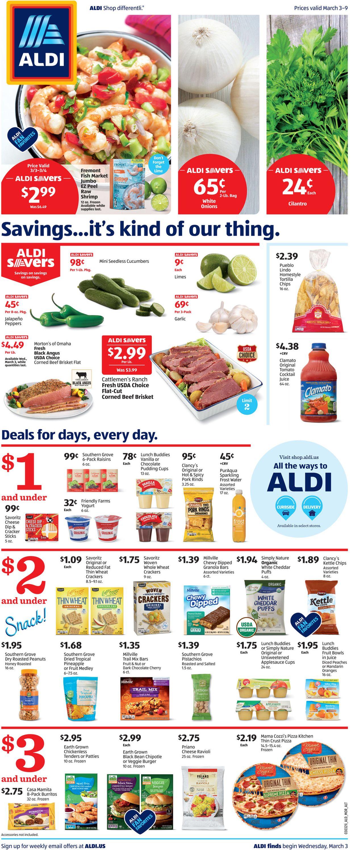 ALDI Weekly Ad Circular - valid 03/03-03/09/2021