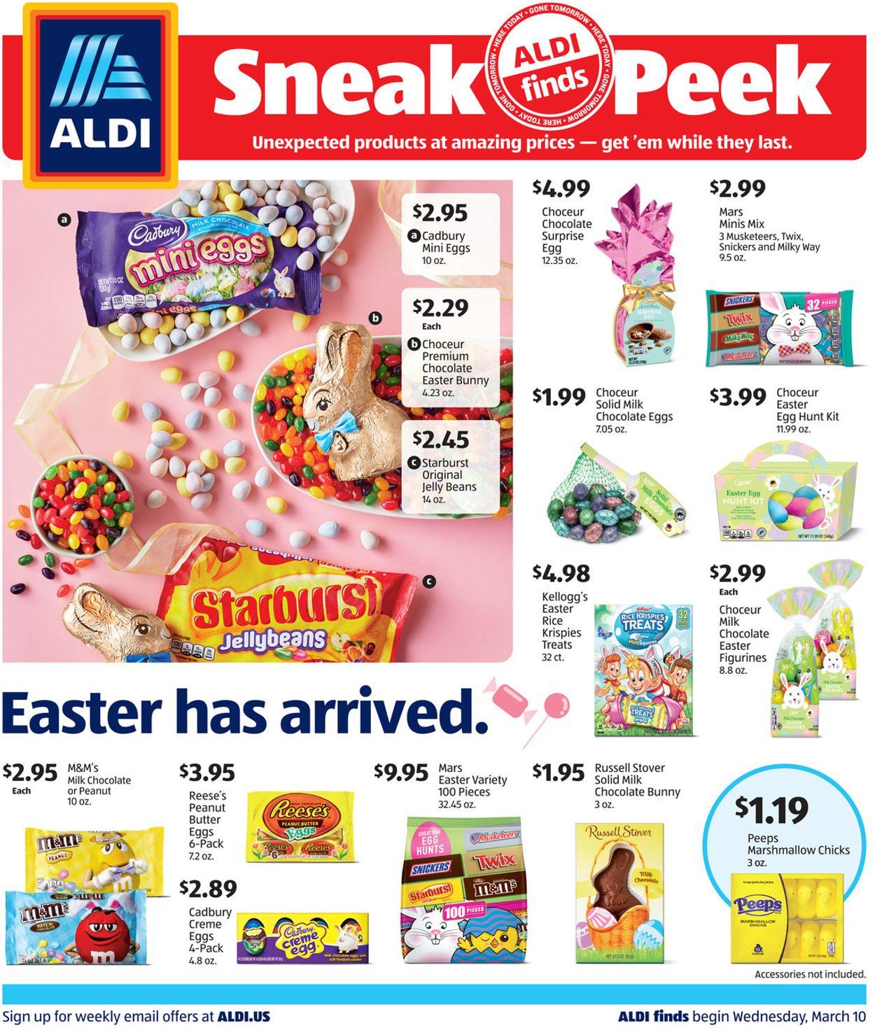 ALDI Weekly Ad Circular - valid 03/10-03/16/2021